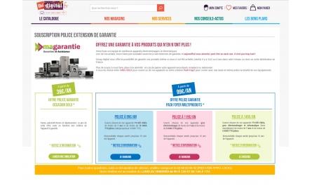 magarantie.com pour Digitalgroup.fr