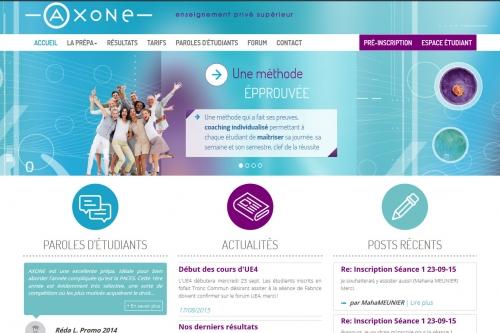 Création site vitrine et développement Plateforme de gestion et de mise à disposition de cours en ligne