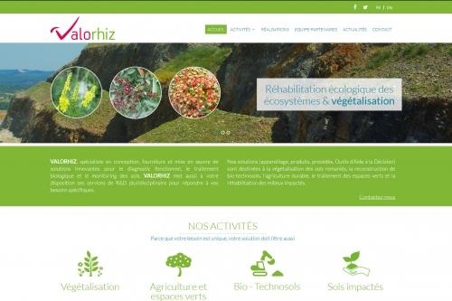 Création du site Internet